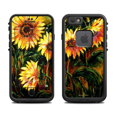 Lifeproof iPhone 6 Fre Case Skin - Sunflower Sunshine