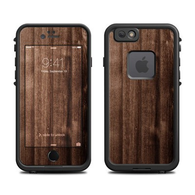 Lifeproof iPhone 6 Fre Case Skin - Stained Wood