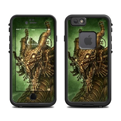 Lifeproof iPhone 6 Fre Case Skin - Steampunk Dragon