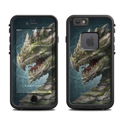 Lifeproof iPhone 6 Fre Case Skin - Stone Dragon