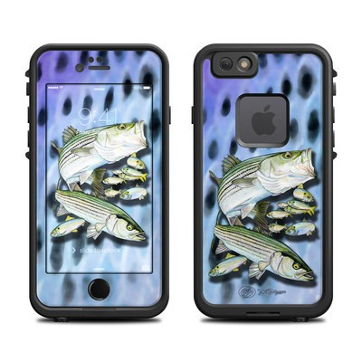 Lifeproof iPhone 6 Fre Case Skin - Striped Bass