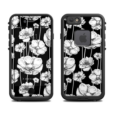 Lifeproof iPhone 6 Fre Case Skin - Striped Blooms