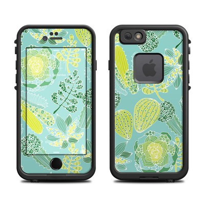 Lifeproof iPhone 6 Fre Case Skin - Succulents