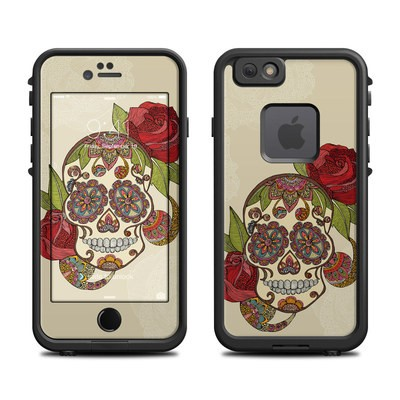 Lifeproof iPhone 6 Fre Case Skin - Sugar Skull