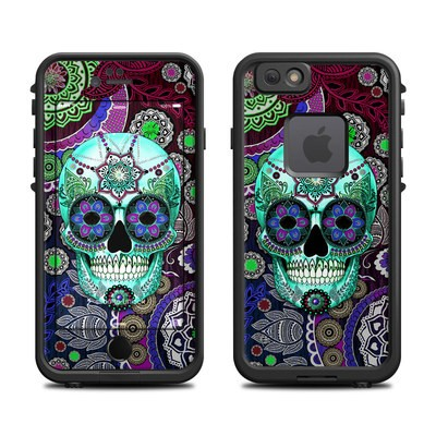 Lifeproof iPhone 6 Fre Case Skin - Sugar Skull Sombrero