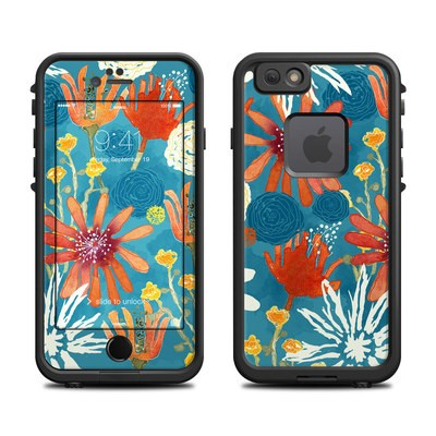 Lifeproof iPhone 6 Fre Case Skin - Sunbaked Blooms