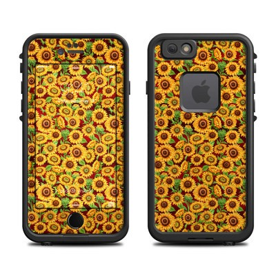 Lifeproof iPhone 6 Fre Case Skin - Sunflower Patch