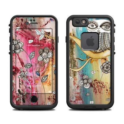 Lifeproof iPhone 6 Fre Case Skin - Surreal Owl