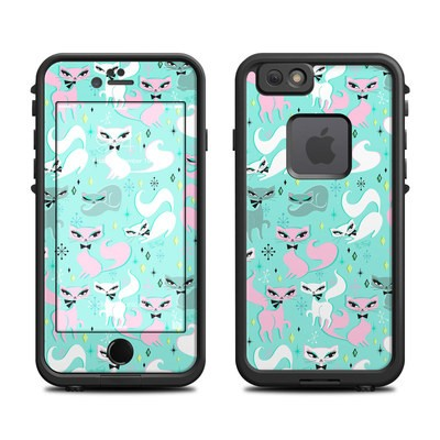 Lifeproof iPhone 6 Fre Case Skin - Swanky Kittens