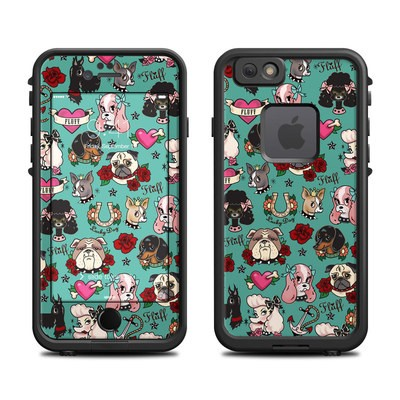Lifeproof iPhone 6 Fre Case Skin - Tattoo Dogs