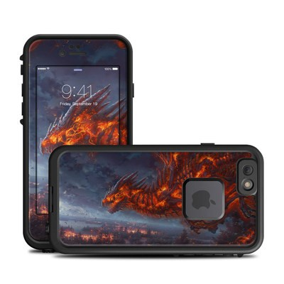 Lifeproof iPhone 6 Fre Case Skin - Terror of the Night