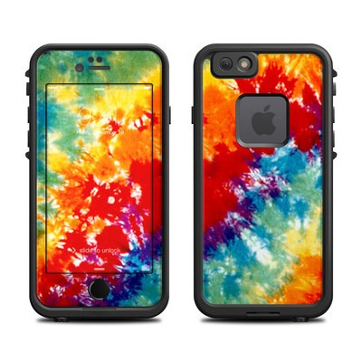 Lifeproof iPhone 6 Fre Case Skin - Tie Dyed