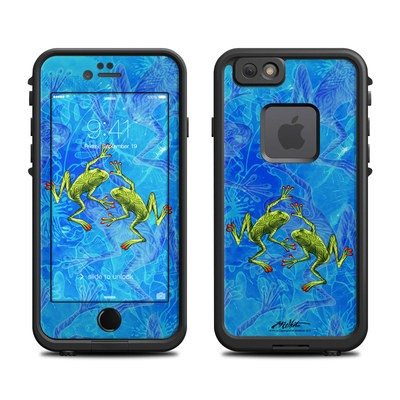 Lifeproof iPhone 6 Fre Case Skin - Tiger Frogs
