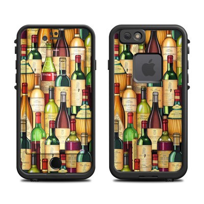 Lifeproof iPhone 6 Fre Case Skin - Time For Wine