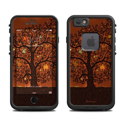 Lifeproof iPhone 6 Fre Case Skin - Tree Of Books