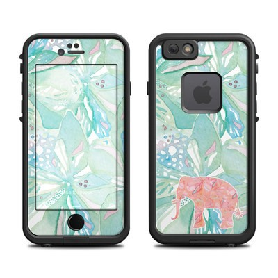 Lifeproof iPhone 6 Fre Case Skin - Tropical Elephant
