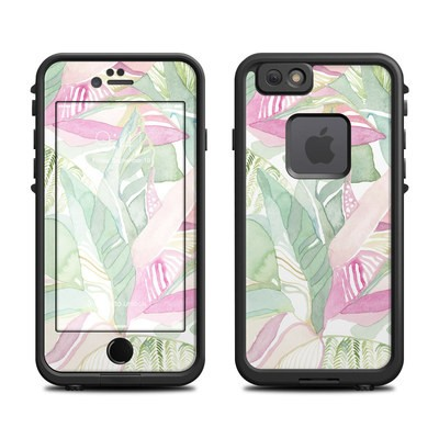 Lifeproof iPhone 6 Fre Case Skin - Tropical Leaves
