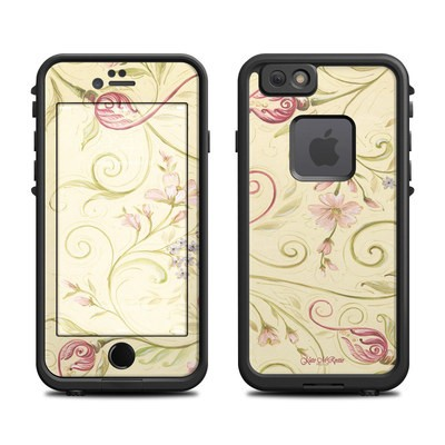 Lifeproof iPhone 6 Fre Case Skin - Tulip Scroll