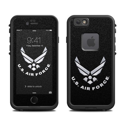 Lifeproof iPhone 6 Fre Case Skin - USAF Black