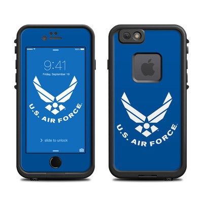 Lifeproof iPhone 6 Fre Case Skin - USAF Blue