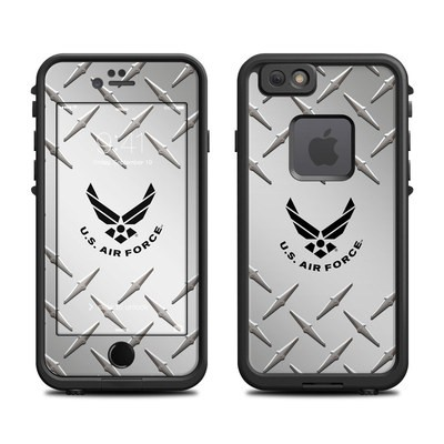 Lifeproof iPhone 6 Fre Case Skin - USAF Diamond Plate