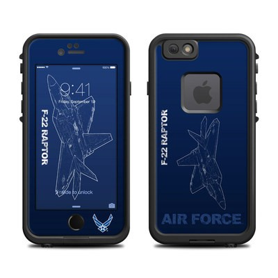 Lifeproof iPhone 6 Fre Case Skin - F-22 Raptor