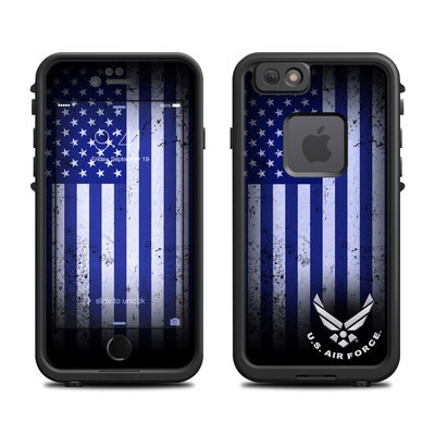 Lifeproof iPhone 6 Fre Case Skin - USAF Flag