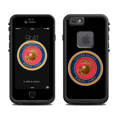 Lifeproof iPhone 6 Fre Case Skin - USMC Black