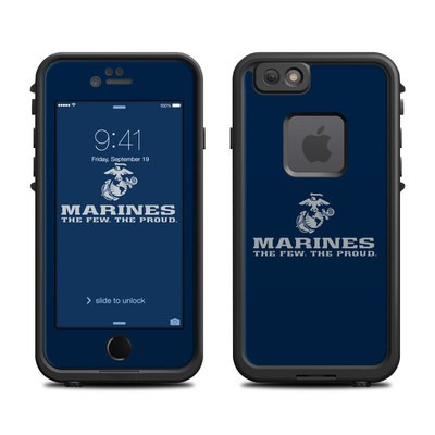 Lifeproof iPhone 6 Fre Case Skin - USMC Blue