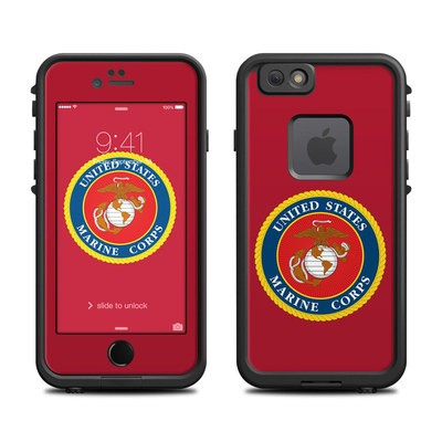 Lifeproof iPhone 6 Fre Case Skin - USMC Red