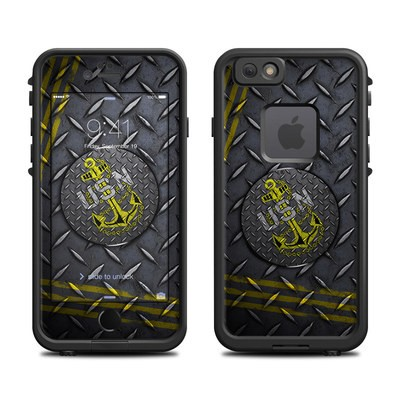 Lifeproof iPhone 6 Fre Case Skin - USN Diamond Plate