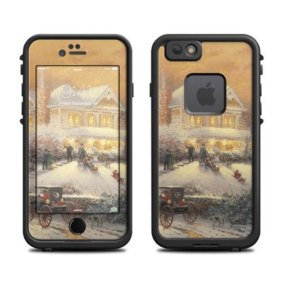 Lifeproof iPhone 6 Fre Case Skin - Victorian Christmas