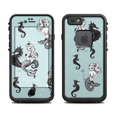 Lifeproof iPhone 6 Fre Case Skin - Vintage Mermaid