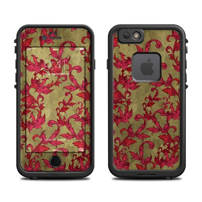 Lifeproof iPhone 6 Fre Case Skin - Vintage Scarlet