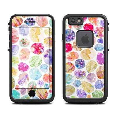 Lifeproof iPhone 6 Fre Case Skin - Watercolor Dots