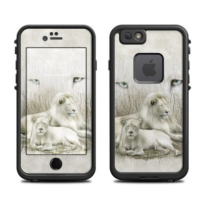 Lifeproof iPhone 6 Fre Case Skin - White Lion