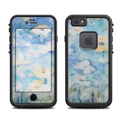 Lifeproof iPhone 6 Fre Case Skin - White & Blue