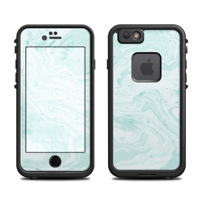 Lifeproof iPhone 6 Fre Case Skin - Winter Green Marble