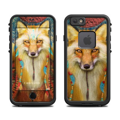 Lifeproof iPhone 6 Fre Case Skin - Wise Fox