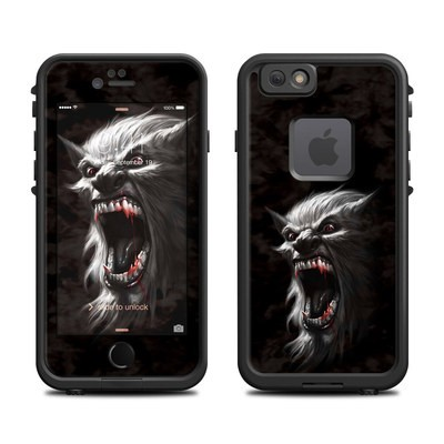 Lifeproof iPhone 6 Fre Case Skin - Wolfman