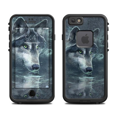 Lifeproof iPhone 6 Fre Case Skin - Wolf Reflection