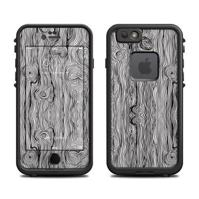 Lifeproof iPhone 6 Fre Case Skin - Woodgrain