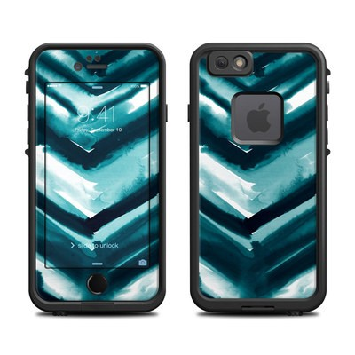 Lifeproof iPhone 6 Fre Case Skin - Watercolor Chevron