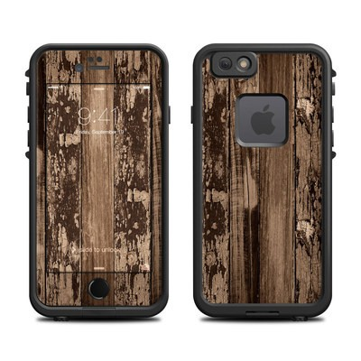 Lifeproof iPhone 6 Fre Case Skin - Weathered Wood