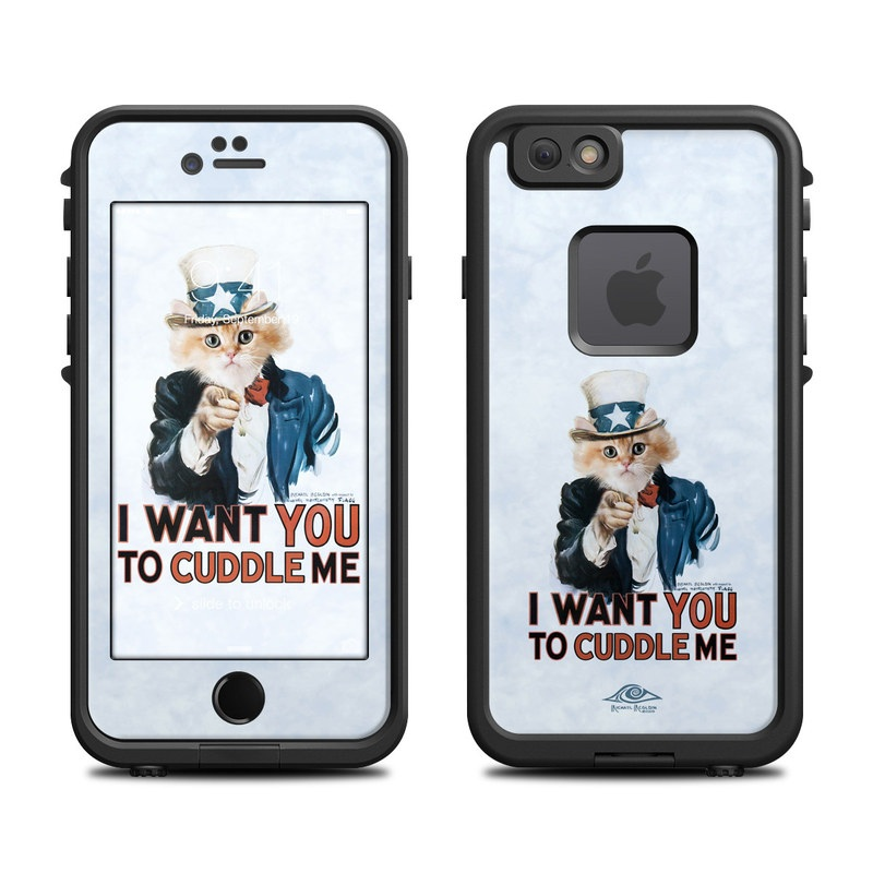 Cuddle Me: Lifeproof IPhone 6 Fre Case Skin