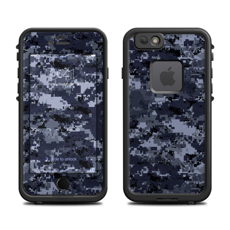 newest collection ff003 1be90 Skin for LifeProof FRE iPhone 6/6S - Digi Navy Camo - Sticker Decal ...