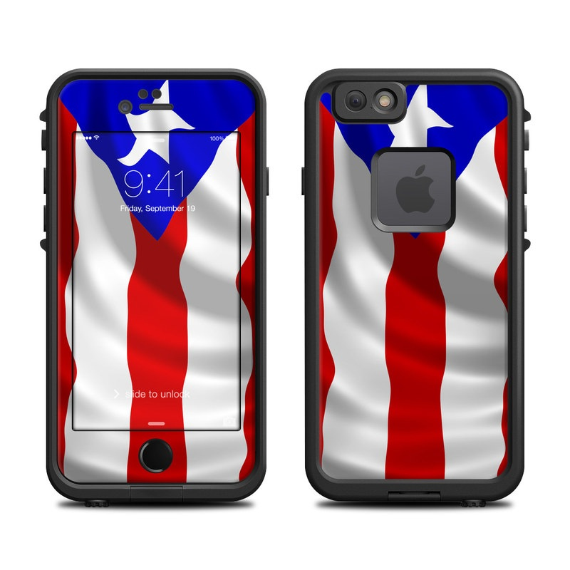 big sale 7f176 660b0 Lifeproof iPhone 6 Fre Case Skin - Puerto Rican Flag