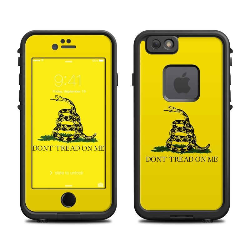 Lifeproof Iphone 6 Fre Case Skin Gadsden Flag By Flags Decalgirl