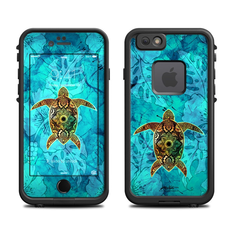 purchase cheap 8e49e f582d Skin for LifeProof FRE iPhone 6/6S - Sacred Honu by Al McWhite ...