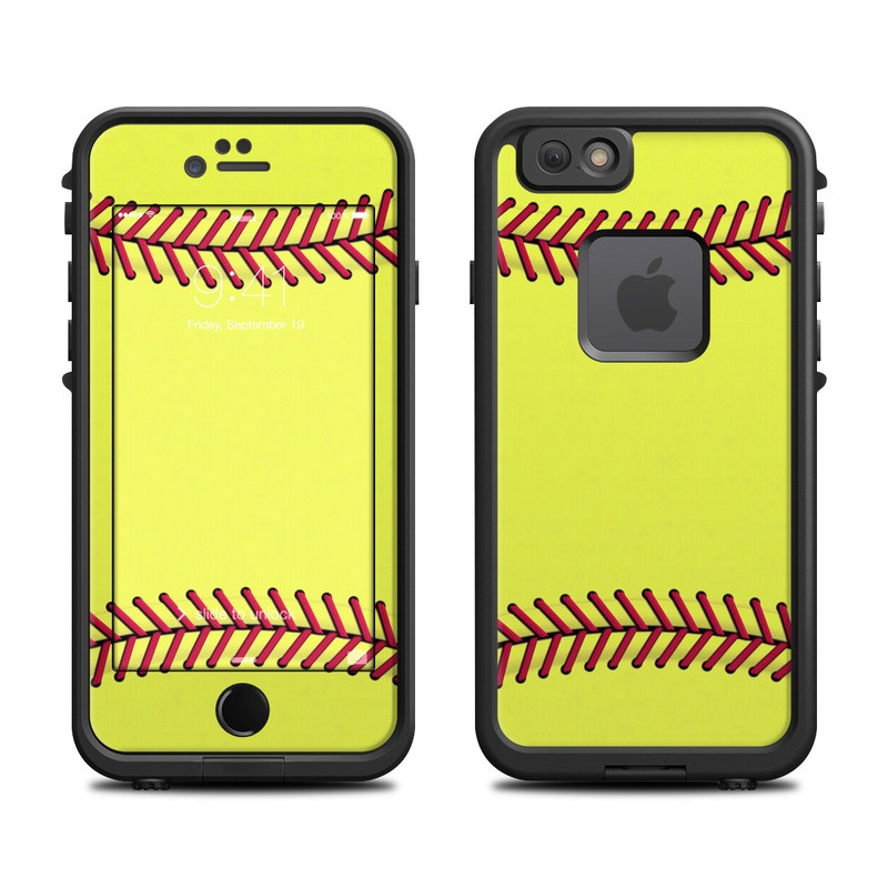 Softball Iphone  Cases